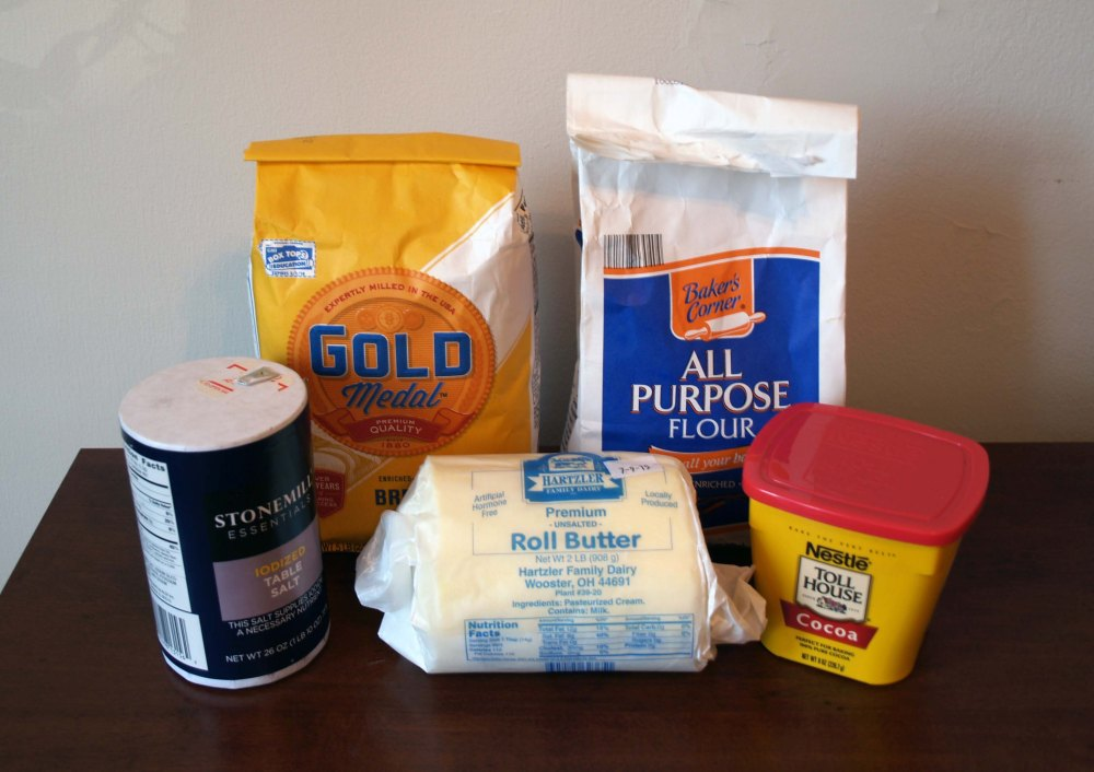 chocolate puff pastry ingredients