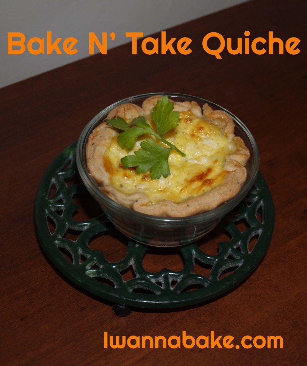 bake n' take quiche