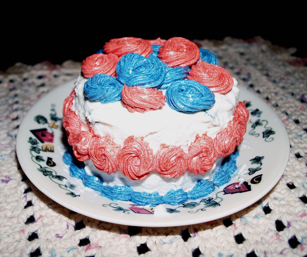 memorial day mini cake 1