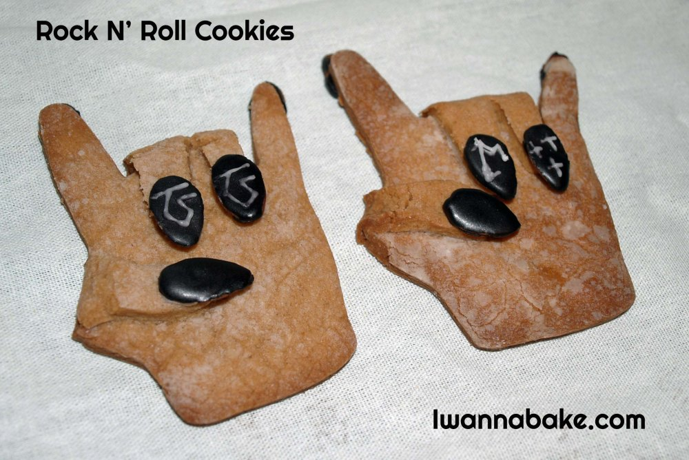 rock n' roll cookies