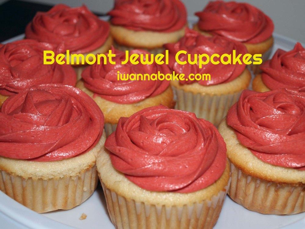 Belmont Jewel Cupcakes