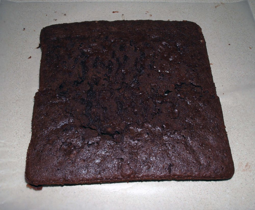broken brownie