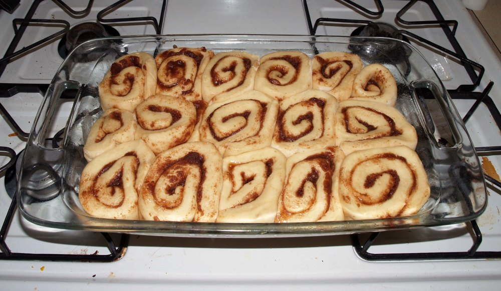 Doubled Cinnamon Rolls