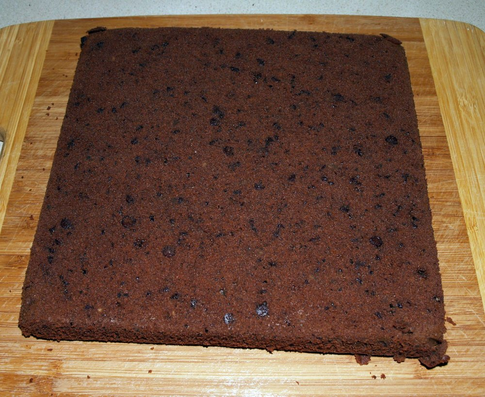 flipped brownie