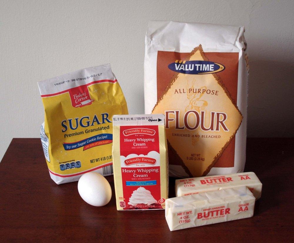 sweet pie crust ingredients