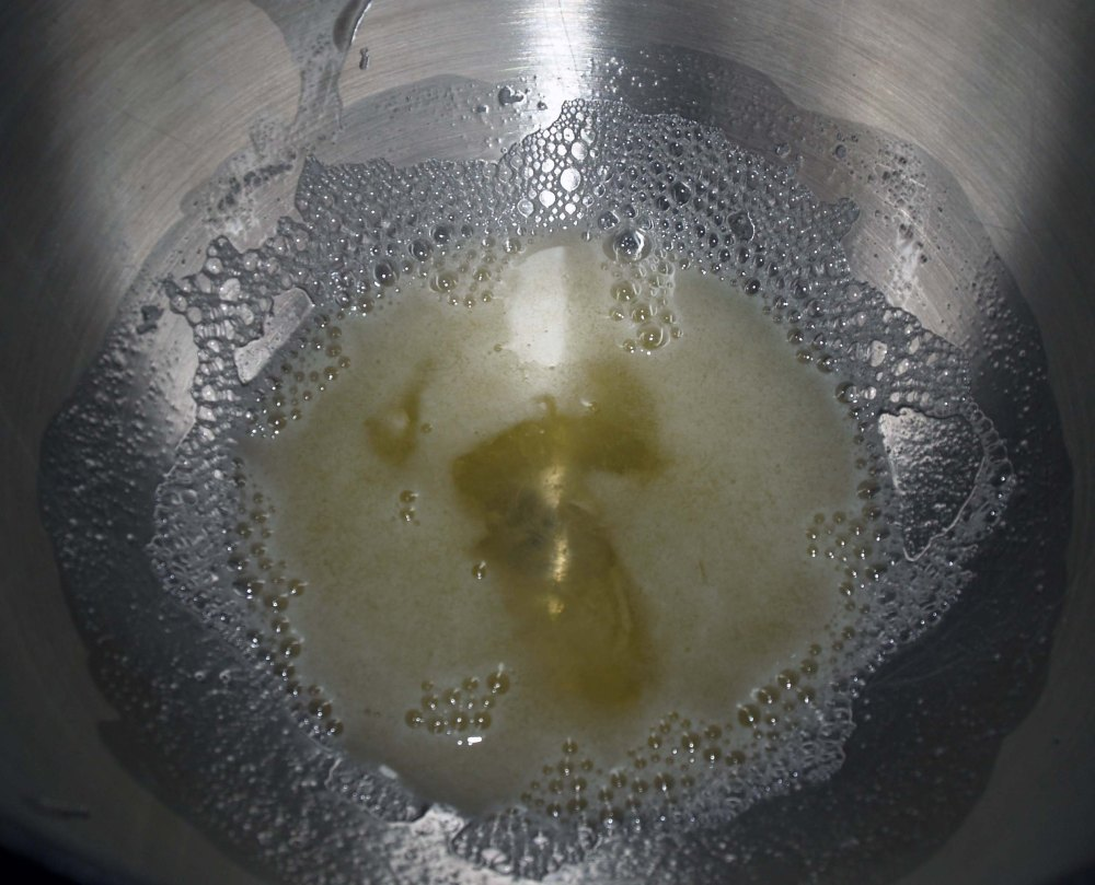 frothy egg whites
