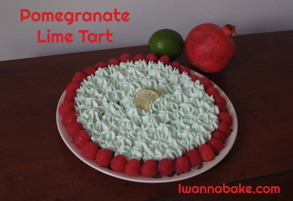 Pomegranate Lime Tart