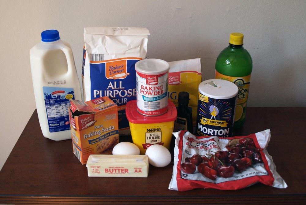 chocolate cherry cake ingredients
