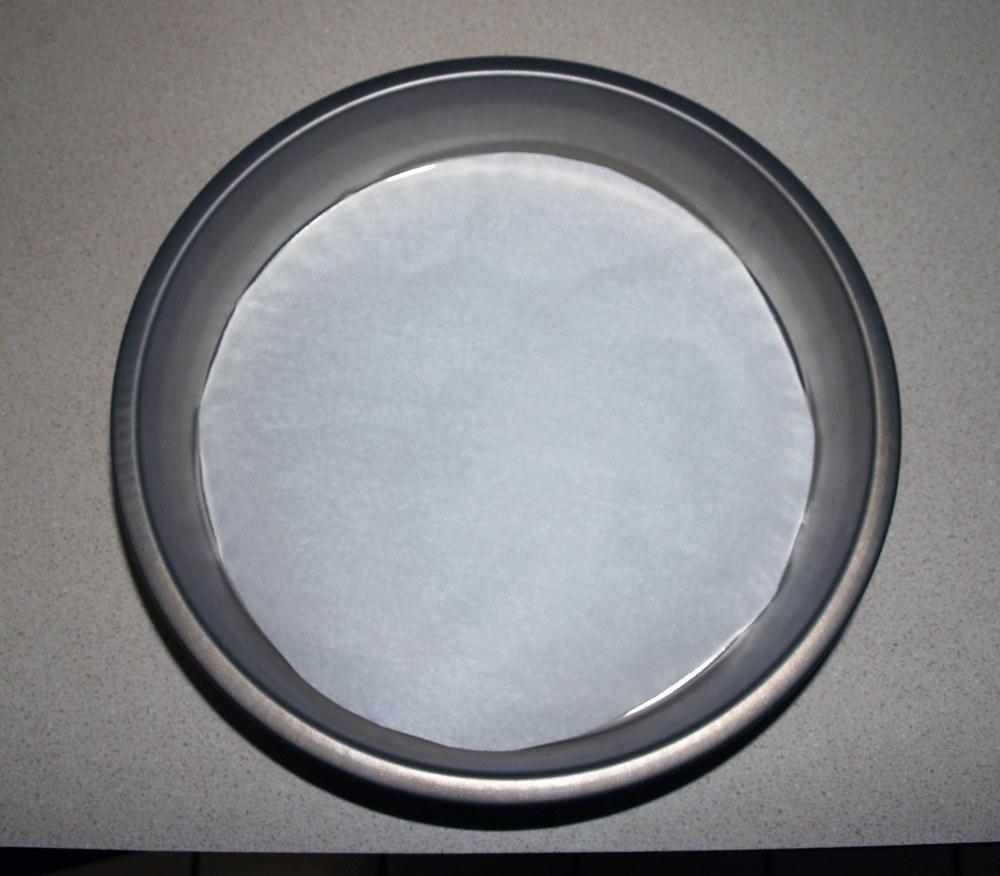 lined cake pan
