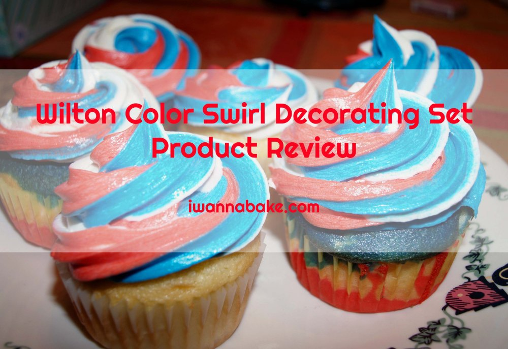 wilton color swirl decorating set product review