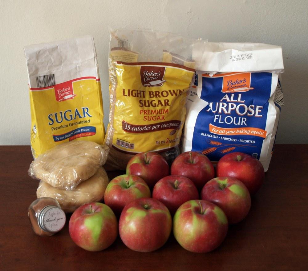 spiced apple pie ingredients