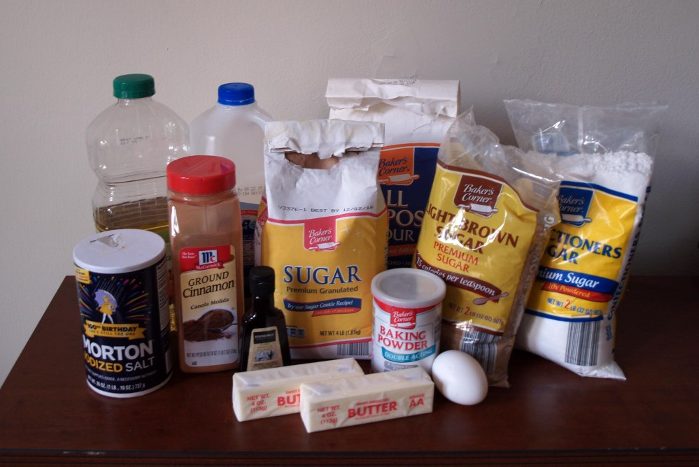 crumb cake ingredients
