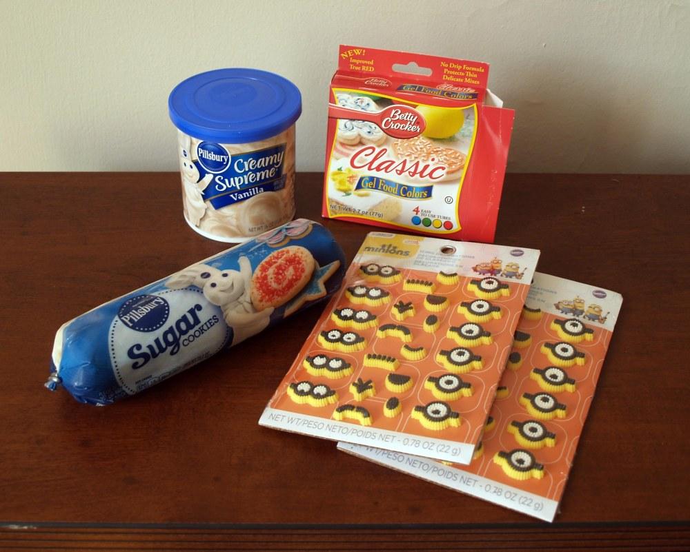 minion cookie ingredients