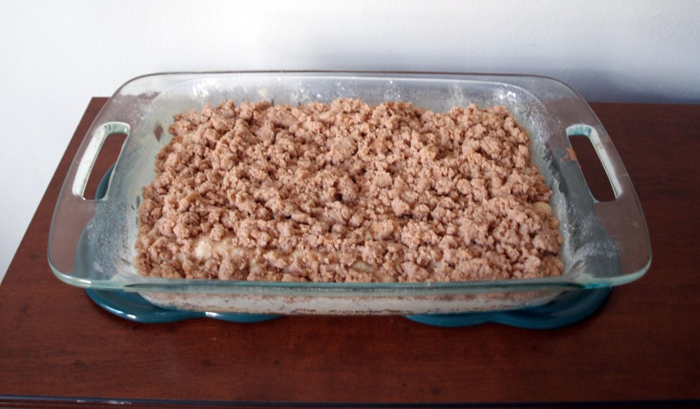 baked crumb cake