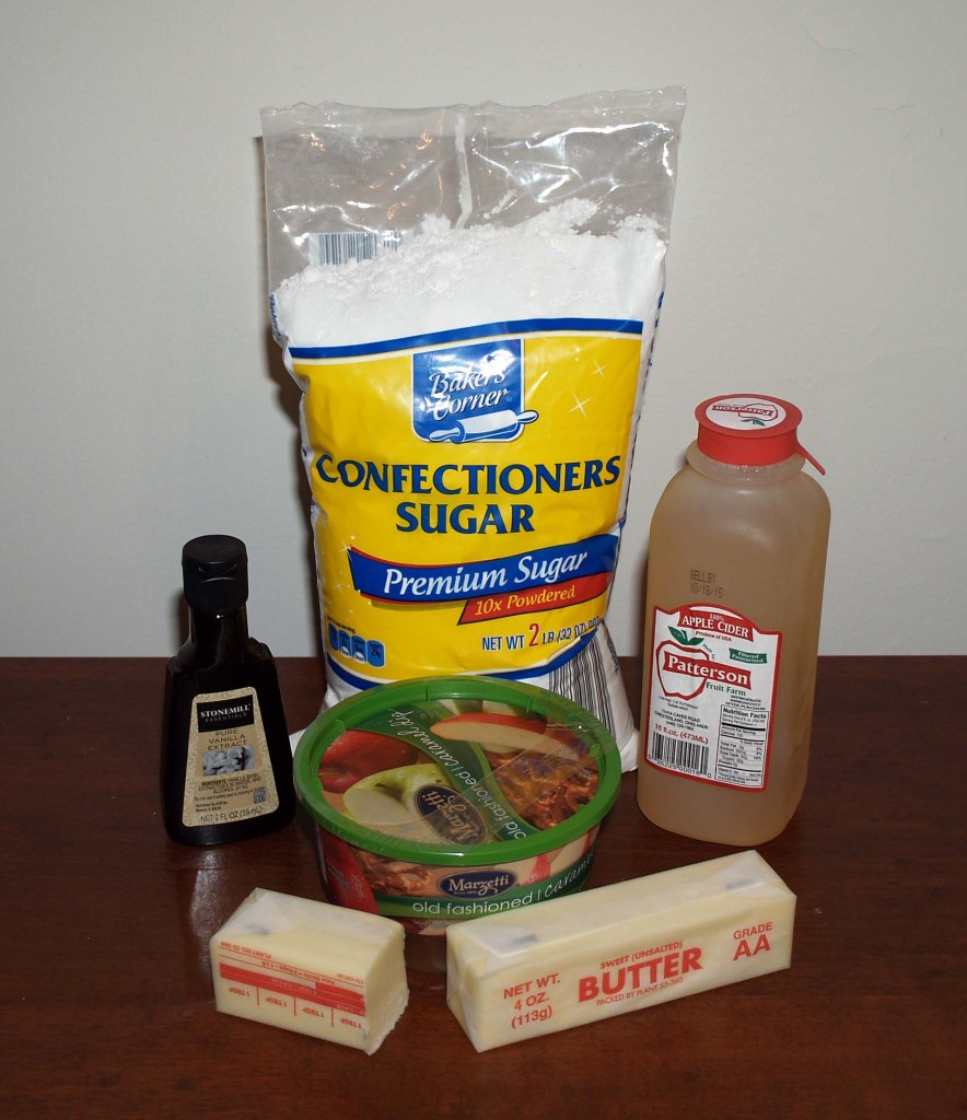 caramel filling ingredients