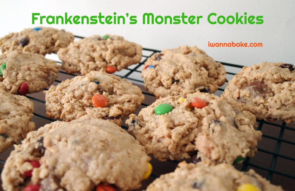 Frankenstein's Monster Cookies
