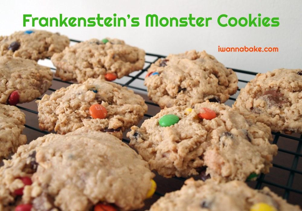 Frankenstein's Monster Cookies