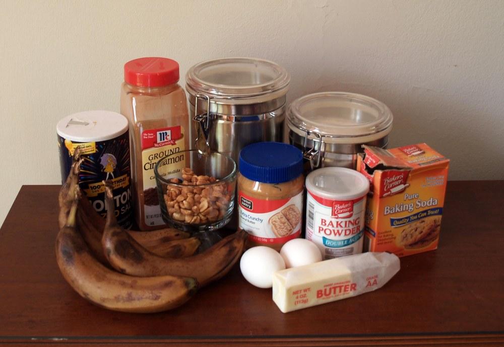 banana nut muffin ingredients