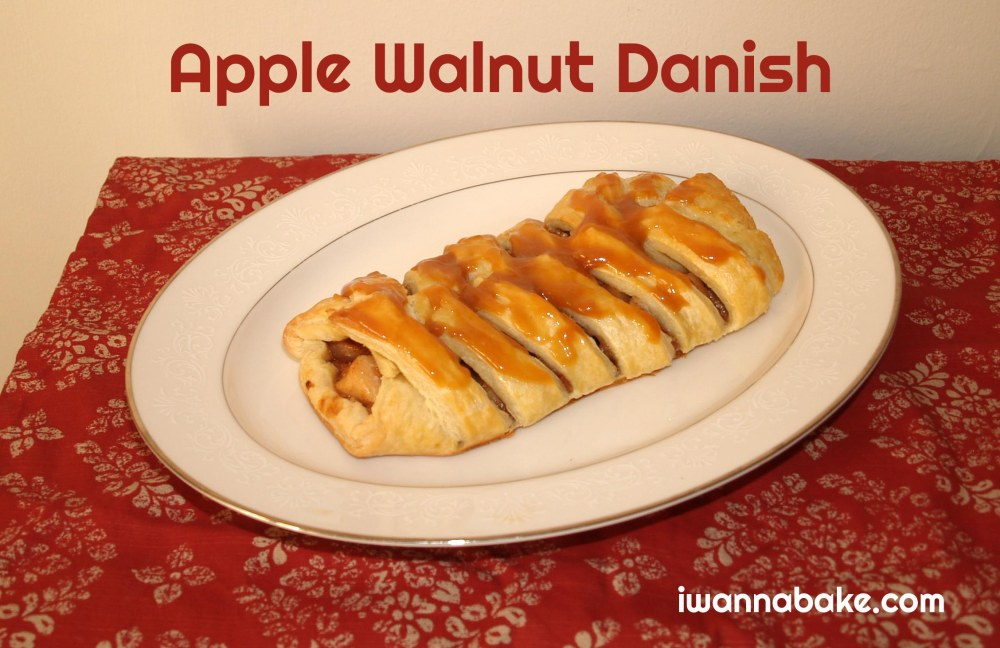 apple walnut danish