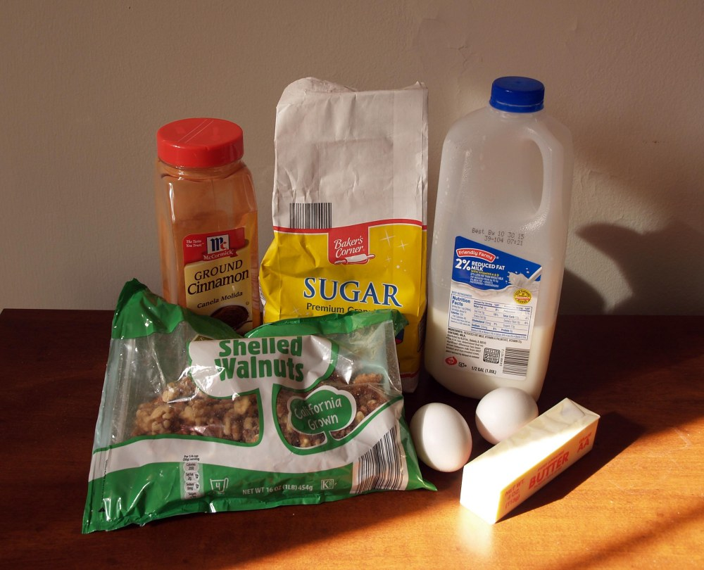 Povitica Walnut Filling Ingredients