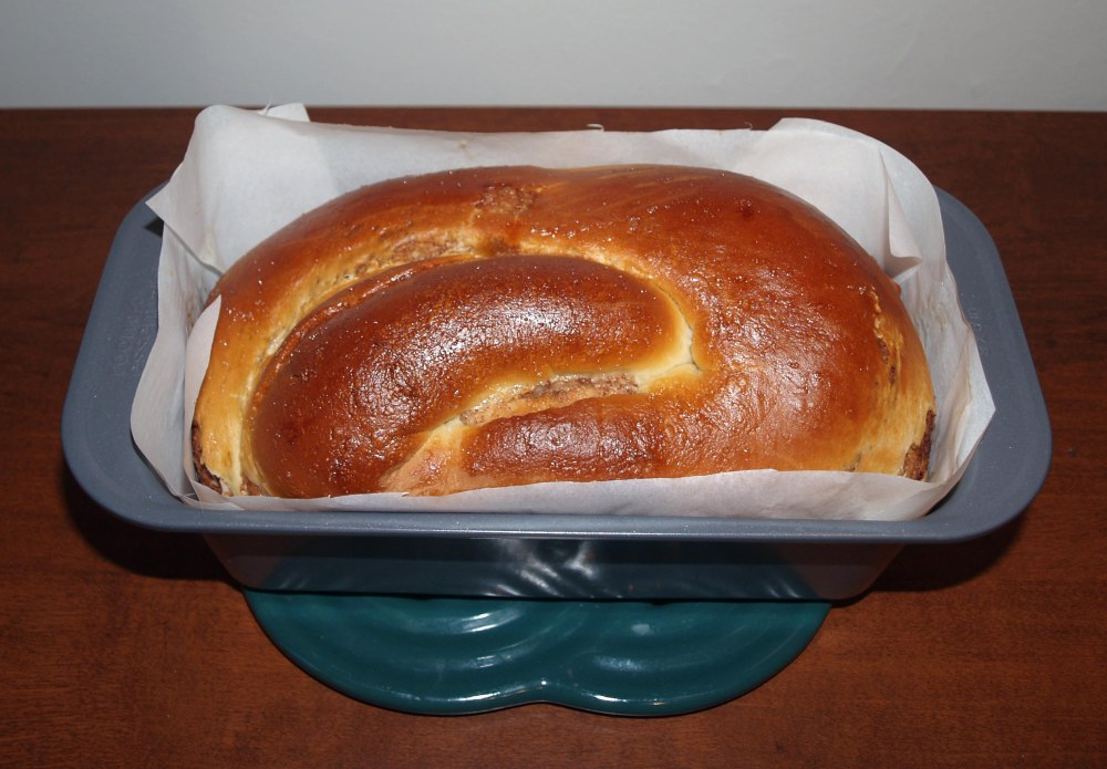 baked povitica loaf