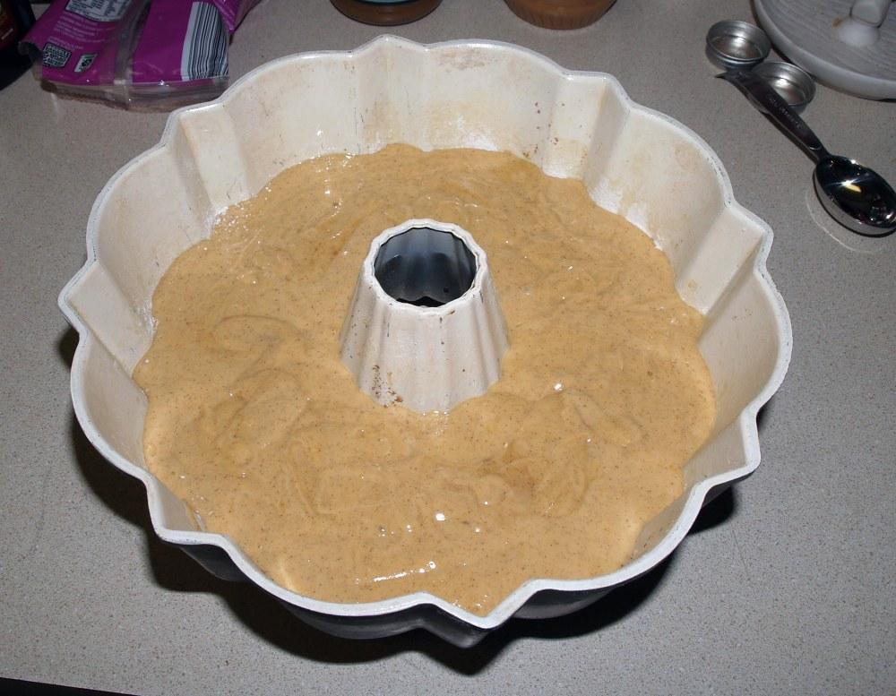 Filled Bundt Pan