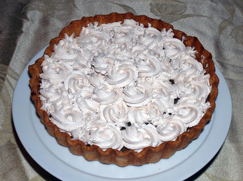 cinnamon tart