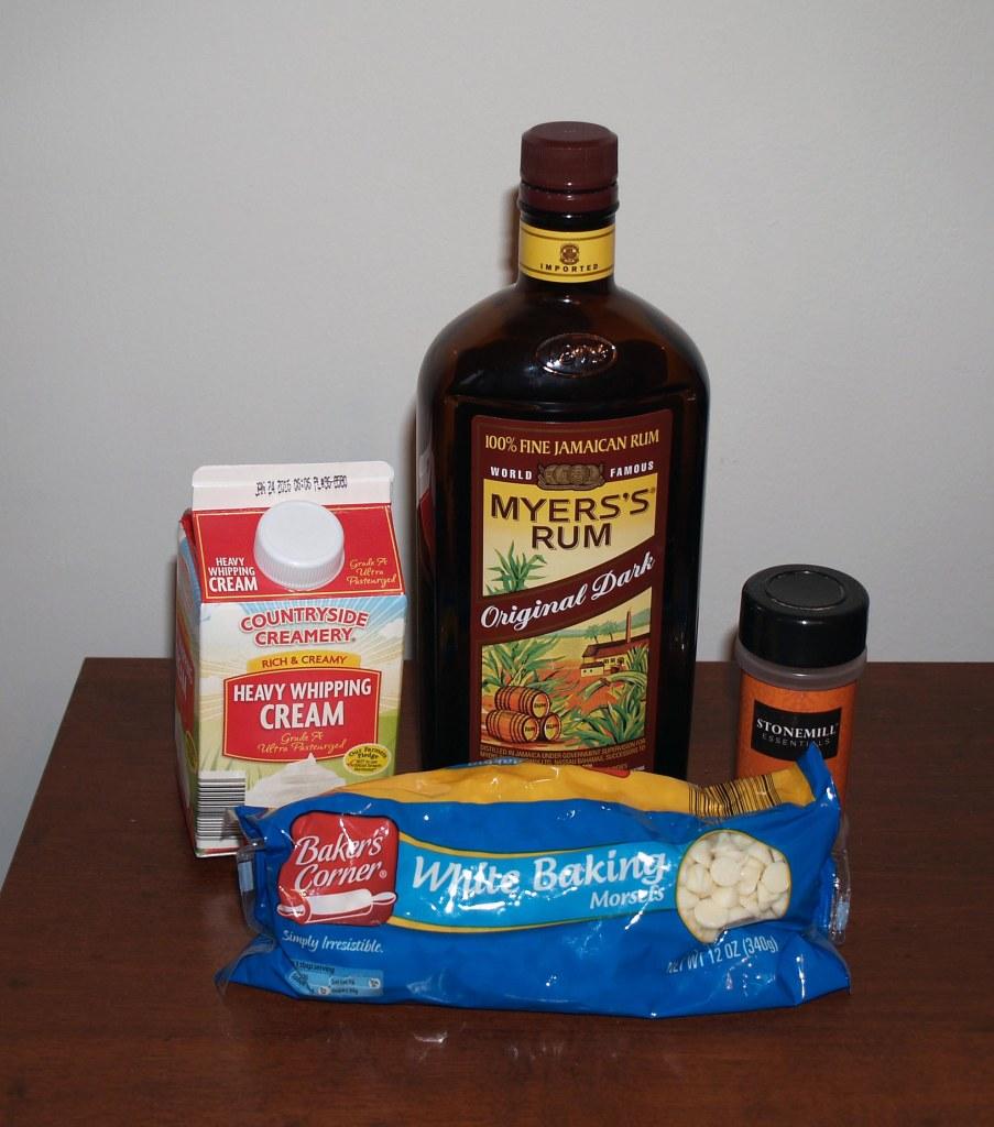 eggnog ganache ingredients
