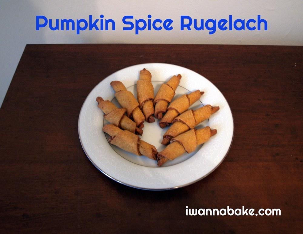 Pumpkin Spice Rugelach