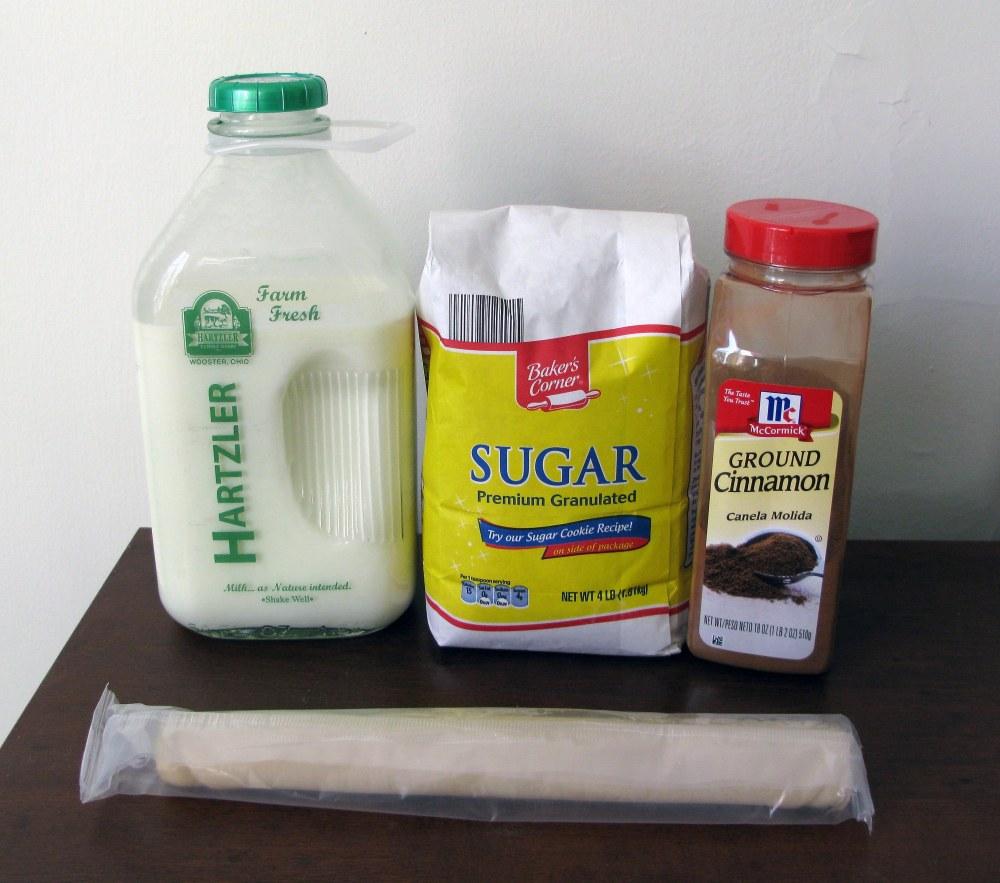 Easy Elephant Ear Cookie Ingredients
