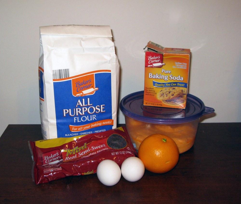 Leftover Frosting Cookie Ingredients