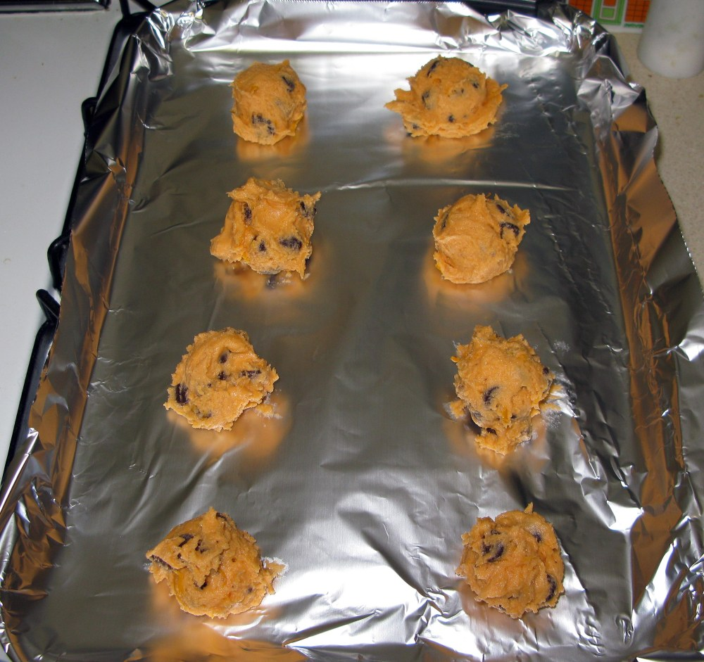 Leftover Frosting Cookie Dough Balls