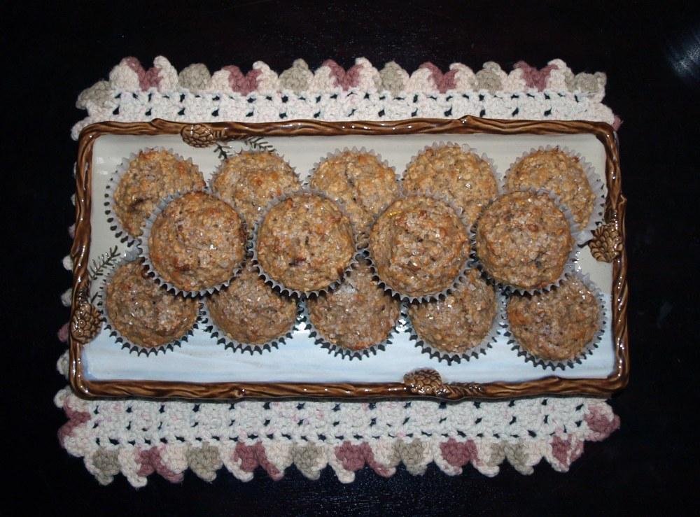 Grapefruit Oatnut Muffins