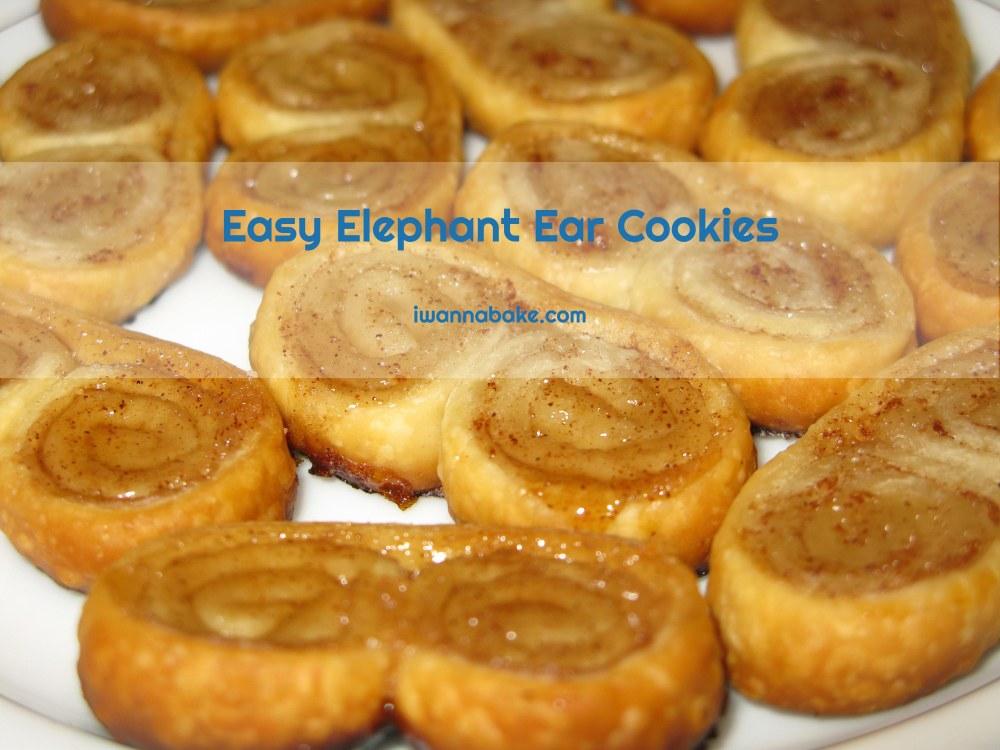 Easy Elephant Ear Cookies