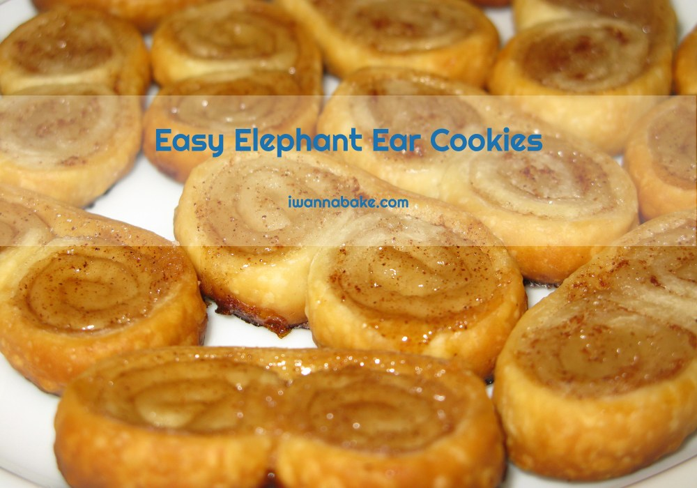 Easy Elephant Ear Cookies