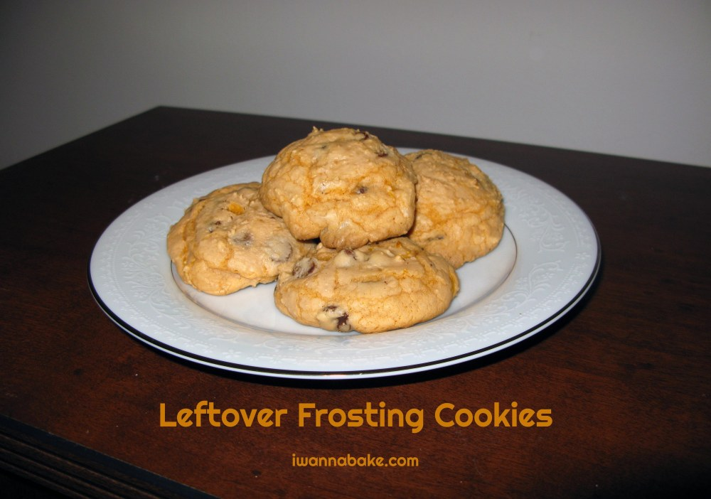 Leftover Frosting Cookies