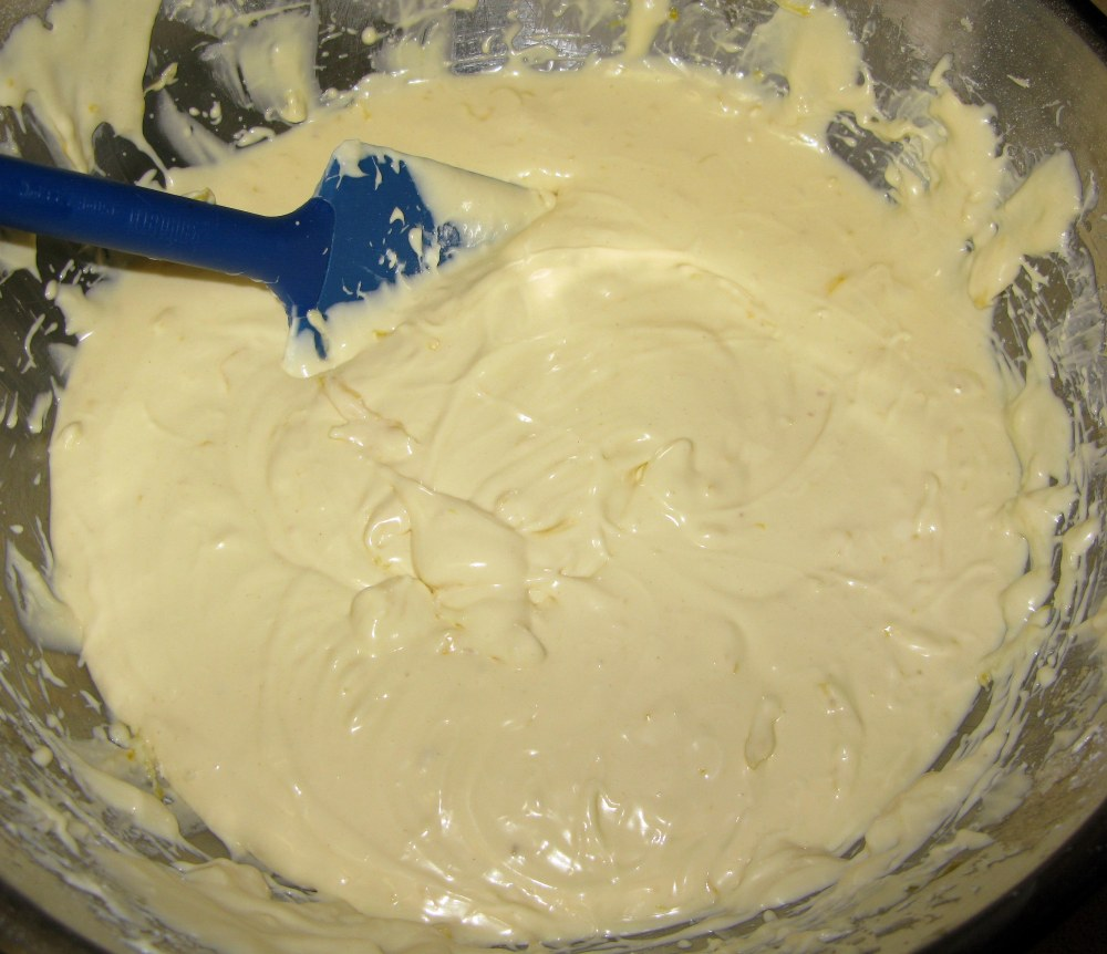 Lemon Cheesecake Batter