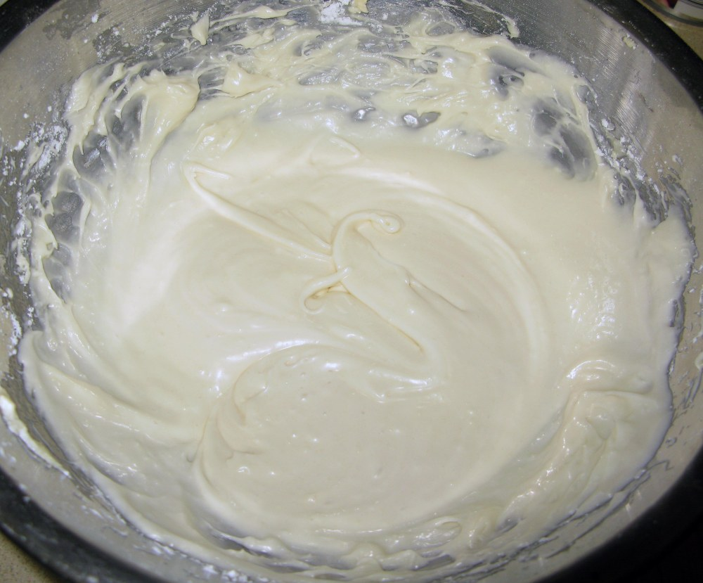 Thinned Cream Cheese Frosting