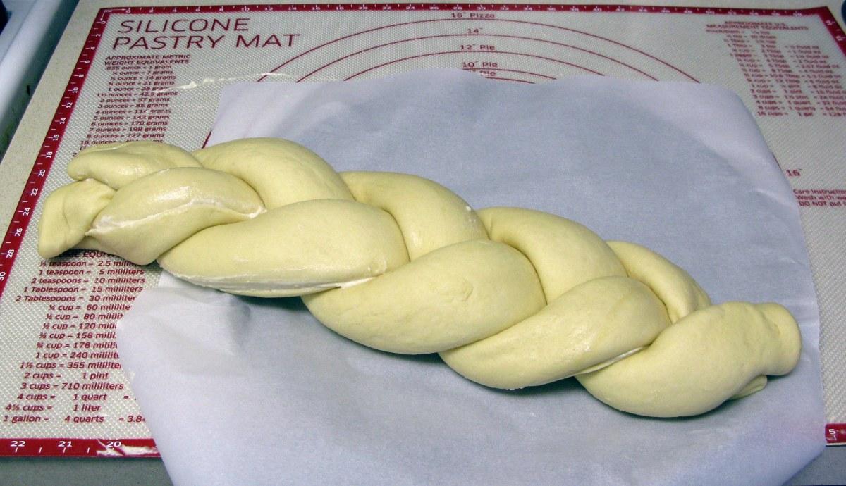 Braided Dough Ropes