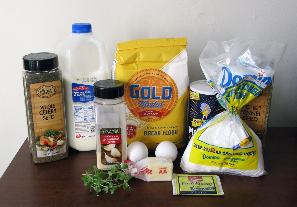Pesto Pinwheel Dough Ingredients