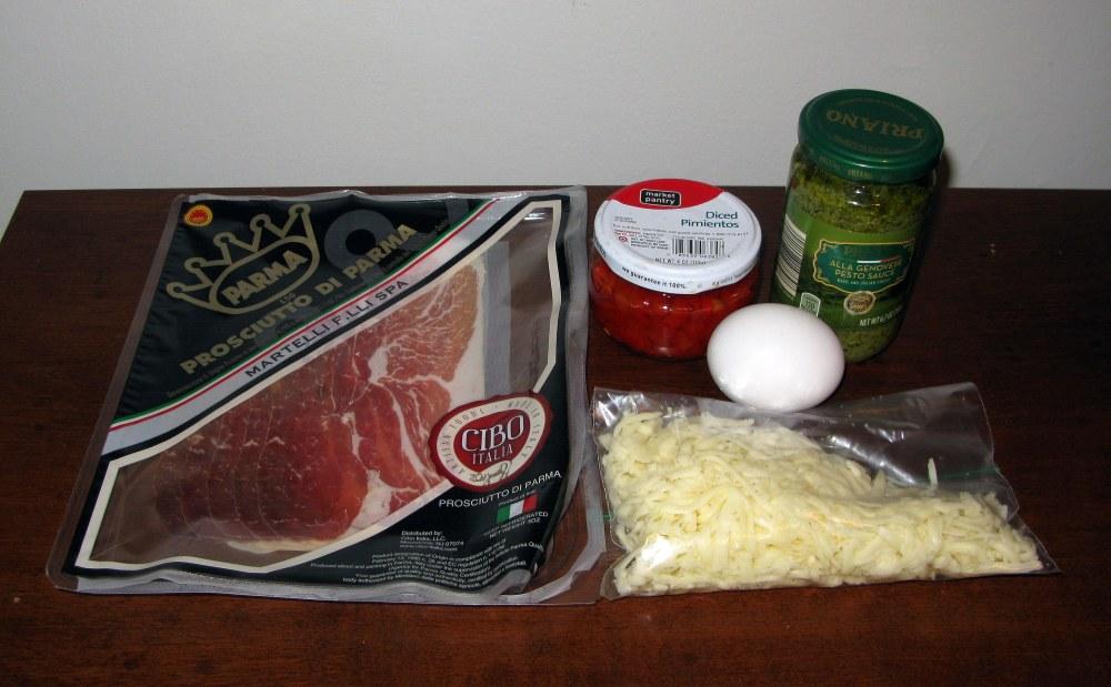 Pesto Pinwheel Filling Ingredients