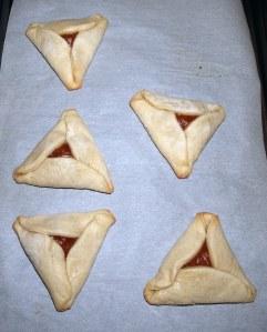 Baked Hamantaschen
