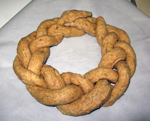 Braided Dough Ring