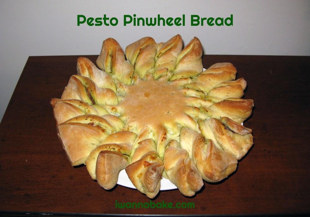 Pesto Pinwheel Bread