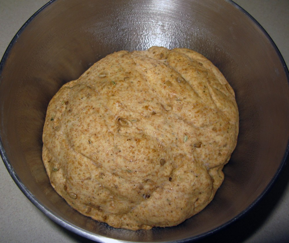 Risen Robin's Nest Dough