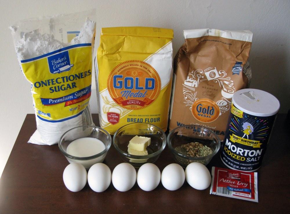 Robin's Nest Bread Ingredients
