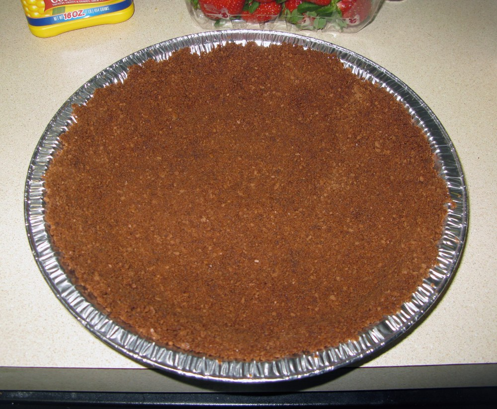 Unbaked Graham Cracker Crust