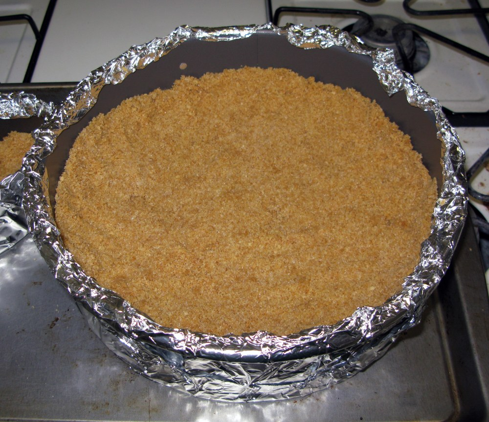 Graham Cracker Crust in Springform