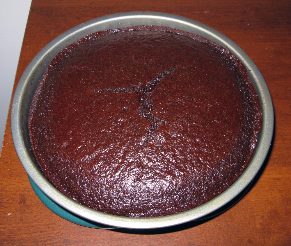 Baked Cinnamon Chocolate Cake