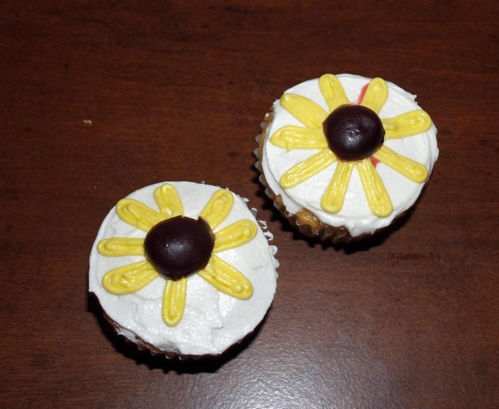 Black-Eyed Susan Cupcakes